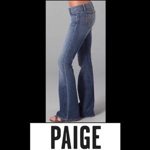🌵 Paige Bell Canyon Bell Bottom Flare Jeans 28 30